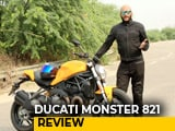 Video : 2018 Ducati Monster 821 Review