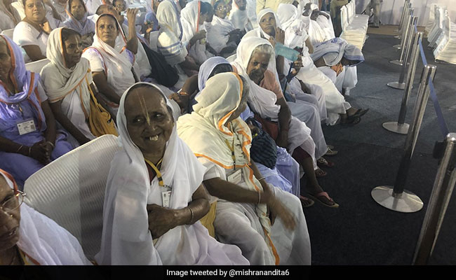 Widows In Vrindavan Look Forward To Starting Life Afresh In New Home