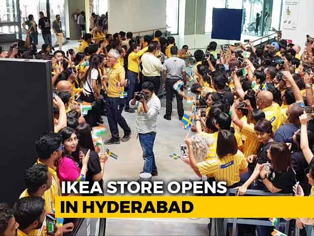 Video : <i>Hej</i> India! IKEA India Debuts With Mega Hyderabad Store