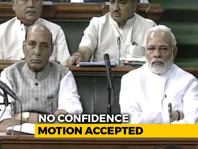Video : For Friday's No-Trust Vote Against Government, The BJP's Strategy Shift