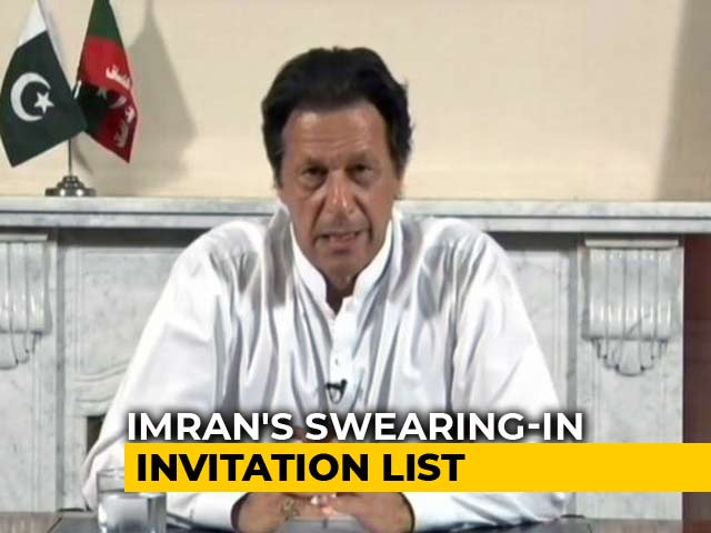 Video : Imran Khan Invites Aamir Khan, Sunil Gavaskar, Kapil Dev To Oath Ceremony