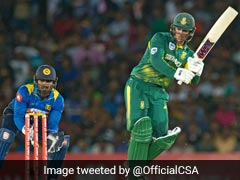 Quinton de Kock, JP Duminy To Lead South Africa Against Sri Lanka In Faf Du Plessis