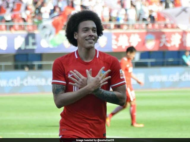Belgiums Axel Witsel On Cusp Of Borussia Dortmund Move From China