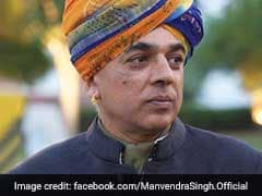 Quitting BJP, Says Jaswant Singh's Son Manvendra Ahead Of Rajasthan Polls