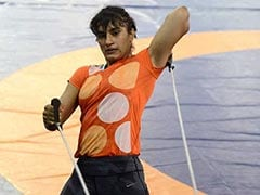 Wrestler Vinesh Phogat To Miss World Championships Due To Elbow Injury