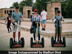 Madhuri Dixit Shares Vacation Pic With Family. Can You Guess The Location?