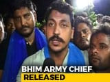 "Video : On ""Request From His Mother"", Bhim Army Founder Released From UP Jail"