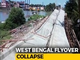 Video : Flyover Being Built Collapses At Kakdwip Near Kolkata