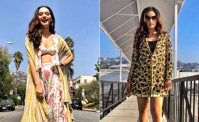 Manushi Chhillar Is Busy Upping Hollywood's Glam Quotient