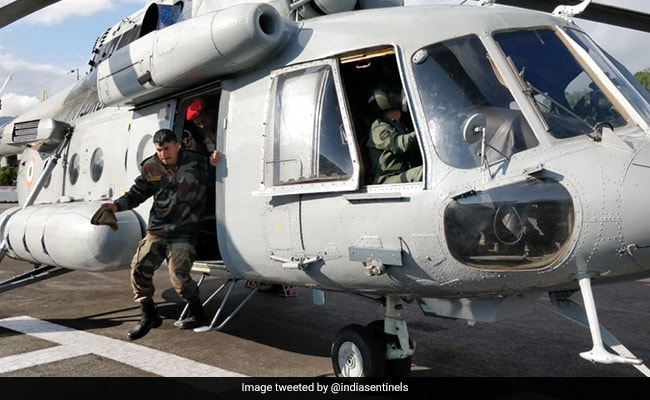 84 Stranded People Airlifted From Landslide-Hit North Sikkim