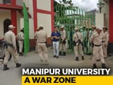Video : Manipur university student leaders, teachers in police custody; internet services suspended