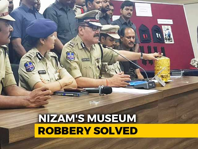Video : Thief Used Hyderabad Nizam's Gold Tiffin Box To Eat Every Day: Police