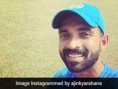 "Watch: Ajinkya Rahane Gears Up For India vs Windies Test With ""Nice"" Batting Session"