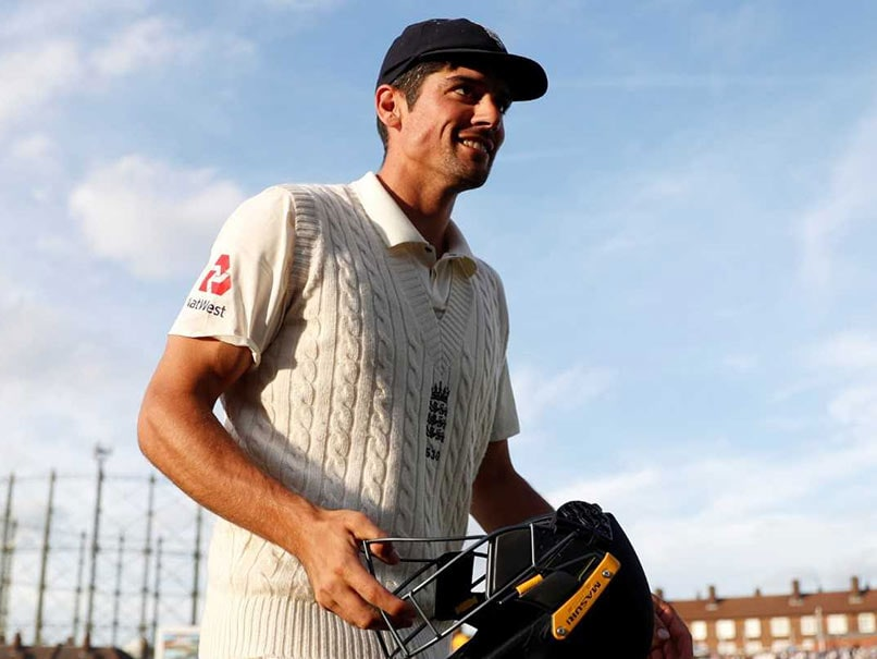 33 bottles of beer for Alastair Cook as farewell gift from media