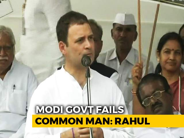 Video : 4 BJP Years Beat Congress Rule? True, Says Rahul Gandhi In Dig At PM