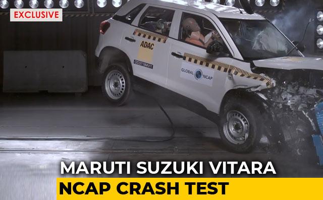 Video : Maruti Suzuki Vitara Brezza Scores 4 Stars In Global NCAP Crash Test