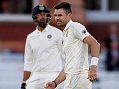 England Pacer James Anderson Fined For Showing Dissent