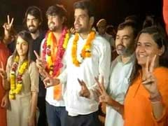 DUSU Election Result 2018: ABVP Wins President, Vice-President, Joint Secretary Posts, NSUI Gets Secretary Seat