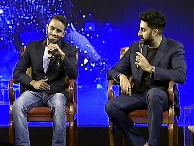 Video : Abhishek Bachchan Politely Turns Down A Boxing Match Against Amit Panghal