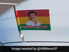 Shivpal Yadav Unveils His New Outfit's Flag