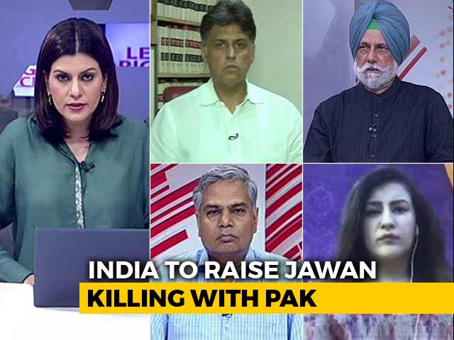 Video : India-Pak Foreign Ministers To Meet: Right Time To Talk To Pak?