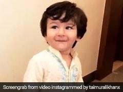 तैमूर अली खान पहुंचे गणपति बप्पा के द्वार, कुर्ता-पायजामा लुक में खूब किया मस्ती-धमाल... देखें Video...