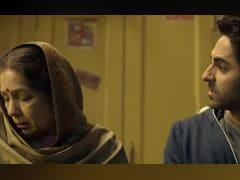 In <I>Badhaai Ho</i>'s ROFL Trailer, Ayushmann Khurrana And Sanya Malhotra Eclipsed By Neena Gupta