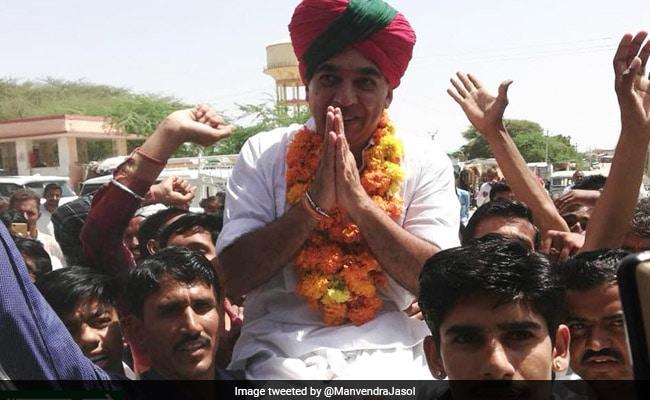 राजस्थान विधानसभा चुनाव 2018: जसवंत सिंह के बेटे मानवेंद्र सिंह ने थामा कांग्रेस का हाथ, राहुल गांधी के घर पर ली सदस्यता