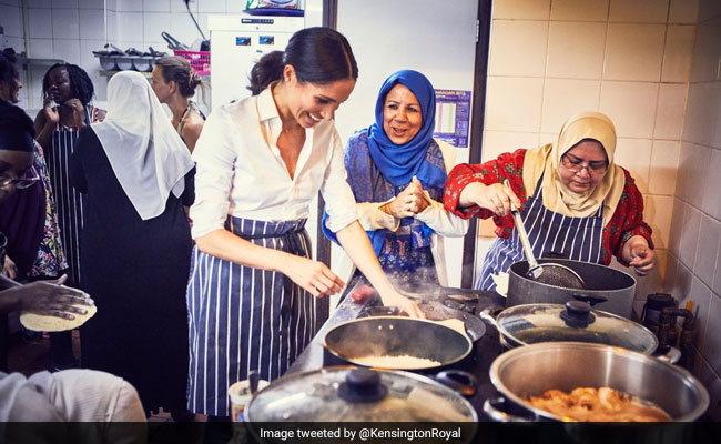 Duchess Of Sussex Meghan Markle Stepped Into The Kitchen For This Noble Cause