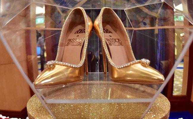 $17 Million Diamond-Trimmed Stilettos With Gold, Silk On sale In Dubai