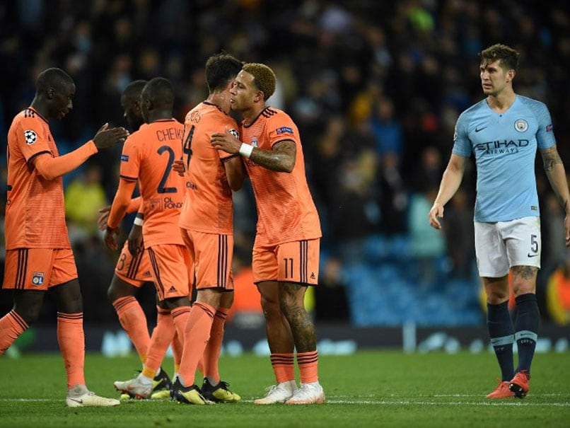 Manchester City Given Champions League Wake-Up Call By Lyon