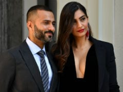 Sonam Kapoor And Anand Ahuja, In Armani Front Row, Score Perfect 10 On Milan Style Meter