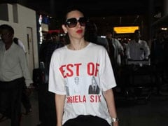 Karisma Kapoor Has Embraced The Graphic T-Shirt Trend With A Vengeance