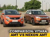 Video : Maruti Suzuki Vitara Brezza AMT vs Tata Nexon AMT Comparison Review