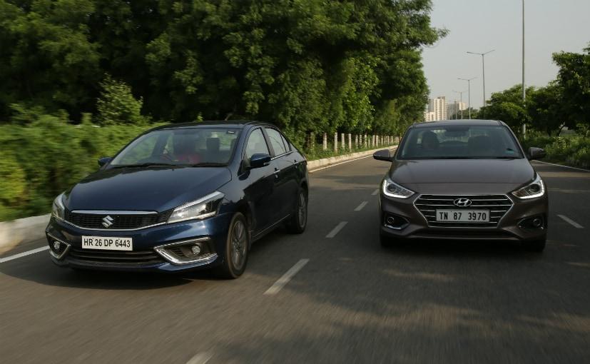 Maruti Suzuki Ciaz VS Hyundai Verna