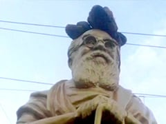 Statue Of EV Ramasamy Periyar Vandalised In Tamil Nadu