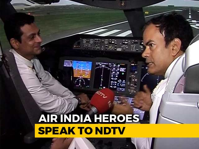 Video : After Multiple Systems Failure Mid-Air, How Air India Pilots Saved 370 Lives
