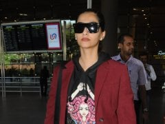 Sonam Kapoor Rocks A Sweatshirt With A Pantsuit. Care To Try Her Look?