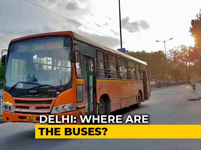 Video : Delhi Waits For New Low-Floor Buses After Petition Blocks Deployment