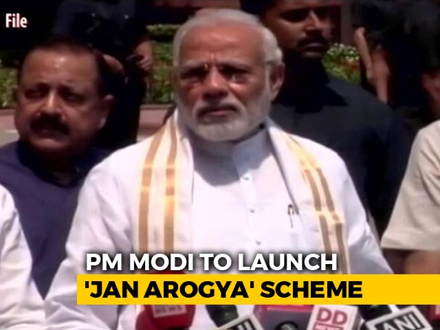 Video : PM Modi To Launch World's Biggest State-Run Health Plan Today