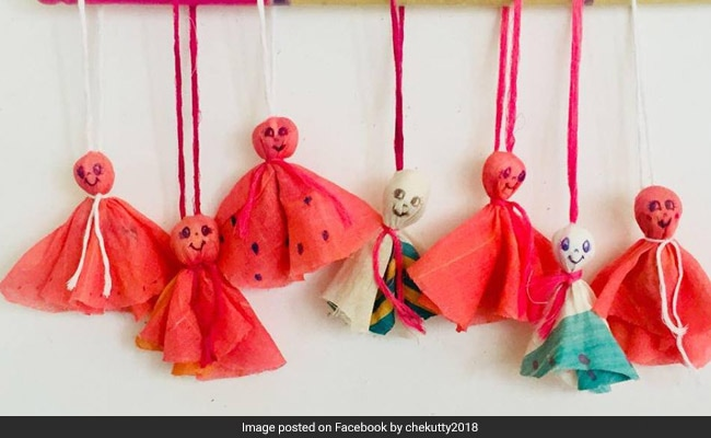 After Kerala Floods, Dolls From Soiled Sarees Emerge As Symbol Of Hope For Weavers