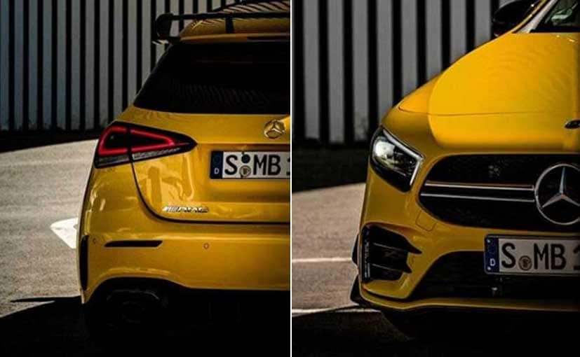 The 2019 Mercedes-AMG A35 will be revealed on October 4 at the Paris Motor Show