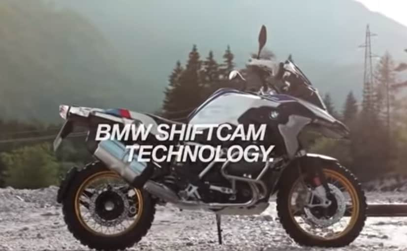The BMW R 1250 GS will adopt a new variable valve timing system