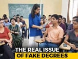 Video : Delhi University's New Student Body Chief In Fake Marksheet Row