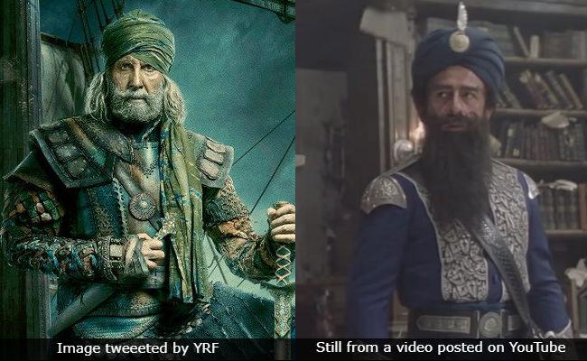 Amitabh Bachchan As Thugs Of Hindostan's Khudabaksh Reminds Us Of Naseeruddin As Nemo
