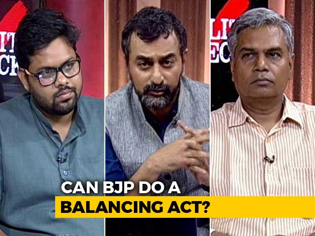 "Video : ""Upper Caste"" Anger: BJP vs BJP?"
