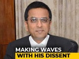 Video : Justice DY Chandrachud, The Dissenting Voice Of The Justice League