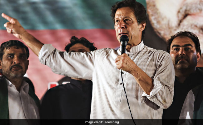 Pak PM Imran Khan hits out at India for nixing talks