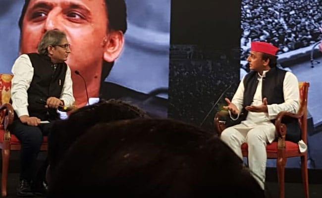 'NDTV Yuva कॉन्क्लेव' में बोले अखिलेश यादव : देश का प्रधानमंत्री उत्तर प्रदेश से ही आए, कांग्रेस को दिल बड़ा करना चाहिए