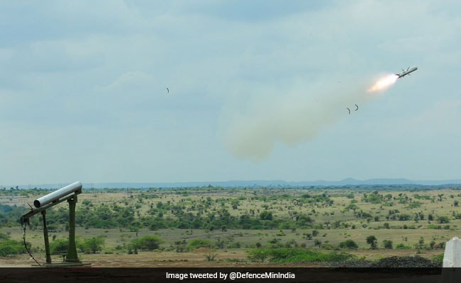 Lightweight Anti-Tank Missile Test-Fired Successfully By DRDO